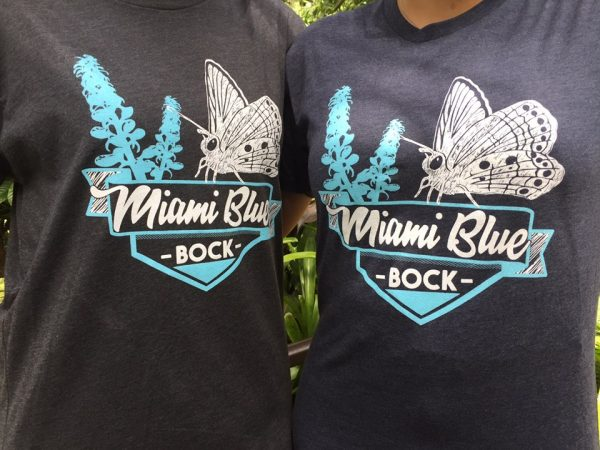 Miami Blue Bock T-shirts