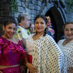 three women in costume