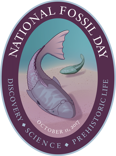 National Fossil Day 2017 badge