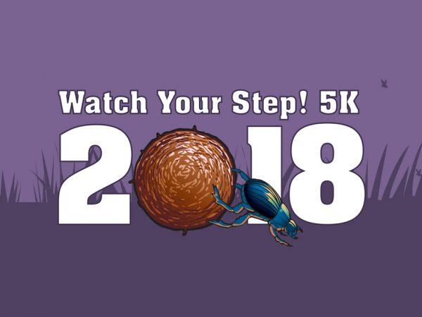 Watch Your Step! 5k, half header