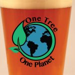 One Tree One Planet beer pint