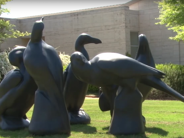 Picture of Lost Bird statues