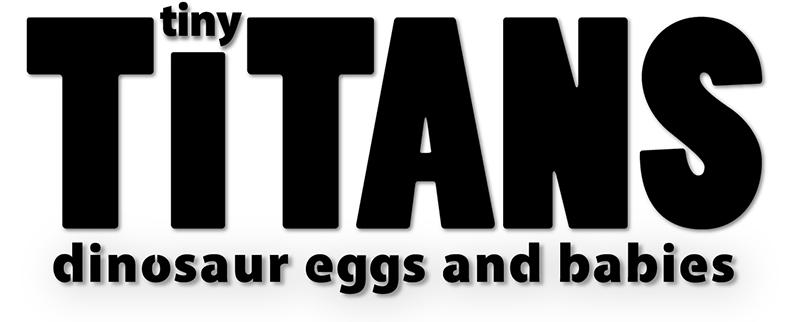 Tiny Titans exhibit logo