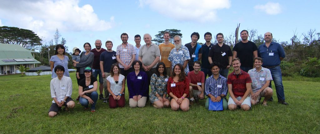 group photo in Hawaii