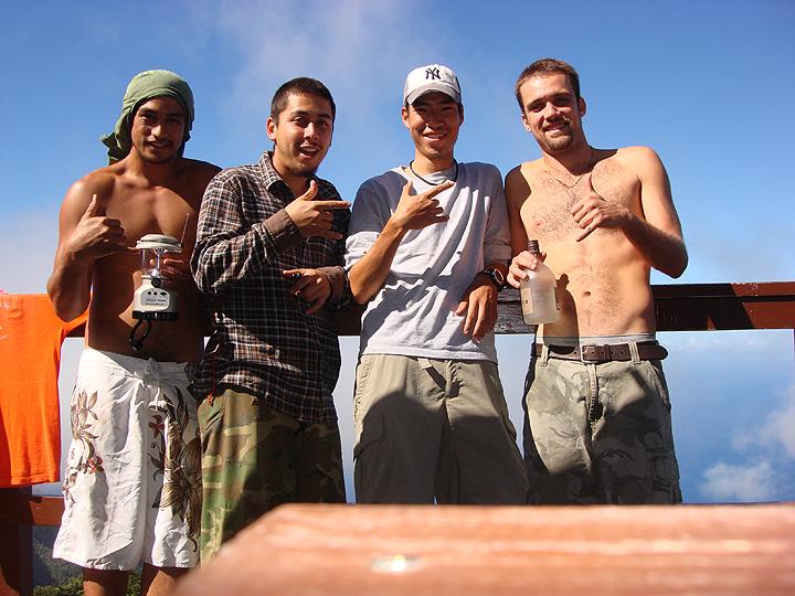 group photo at base camp