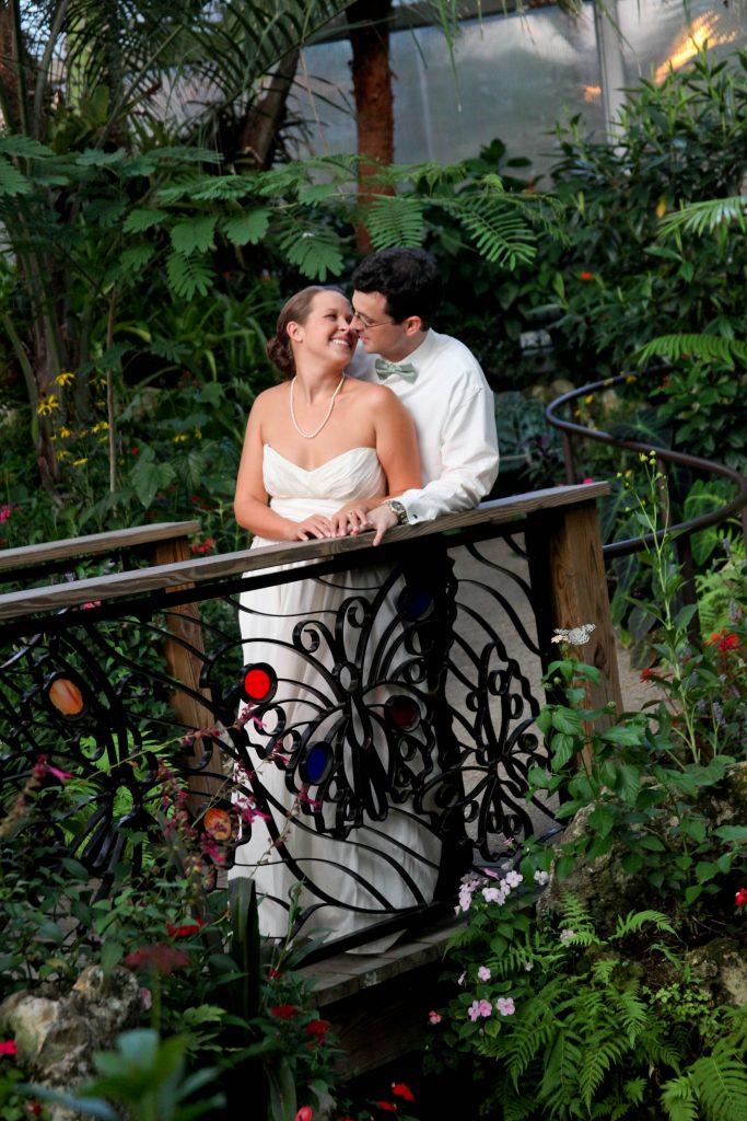 Butterfly Rainforest wedding