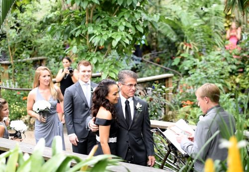 Laura & Damon Rainforest wedding, June 2016