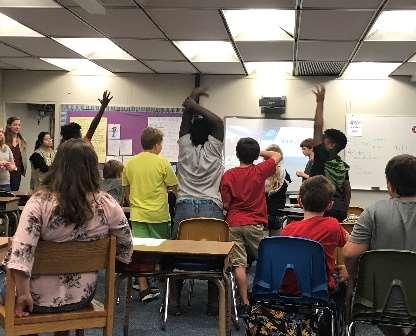 4th grade program: Permian