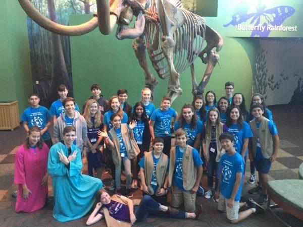 Junior volunteer group