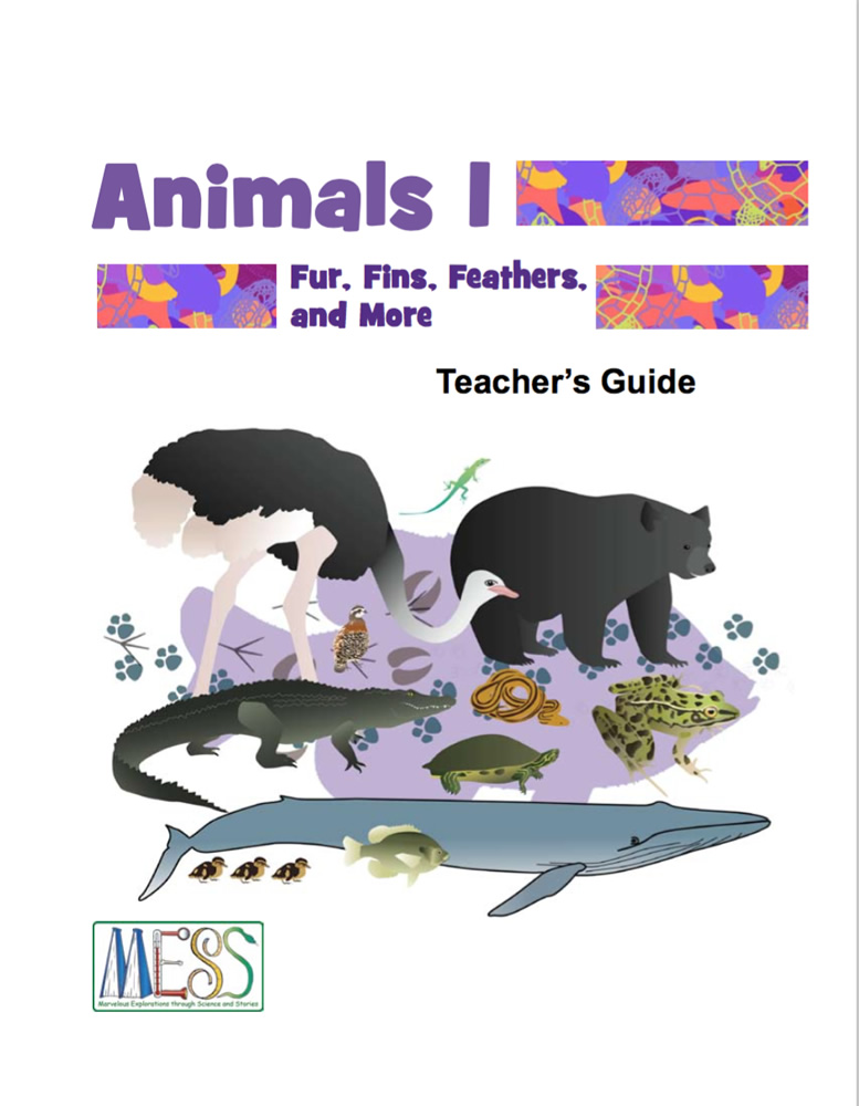 MESS Animals 1 guide cover