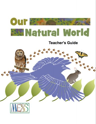 MESS Natural World Guide cover