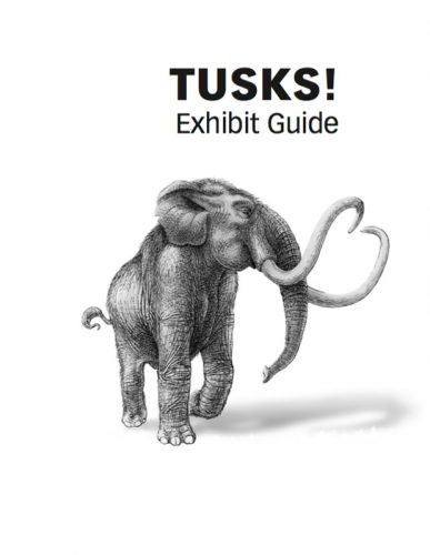 Tusks Exhibit Guide cover