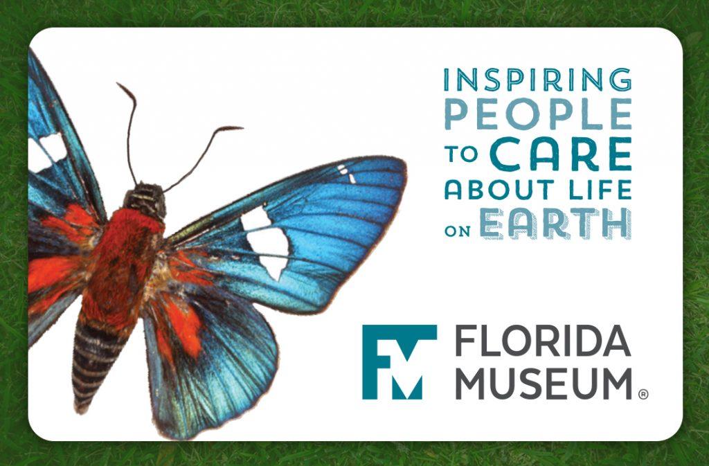 Florida Museum meebrship card front