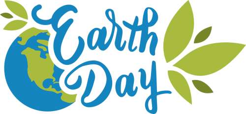 earth day logo graphic