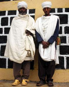 Two church members