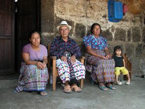 family in Belize