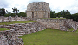 The Round Temple at Mayapan