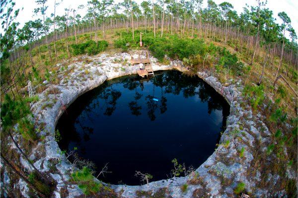 sinkhole overhead