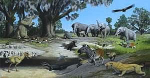 Pliocene painting