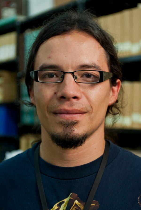 UF geology student Aldo Rincon