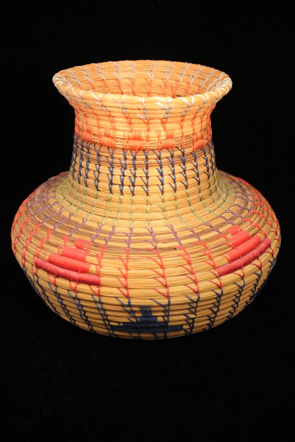 Basket by Seminole artist Paul Billie