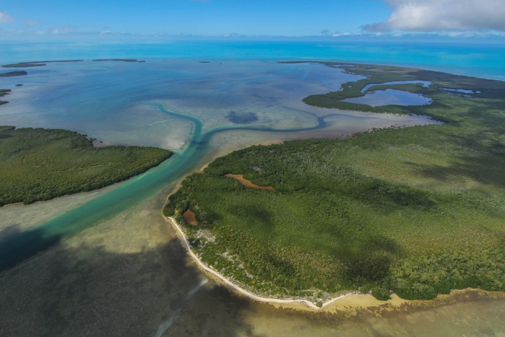 Remote atoll in the Key West National Wildlife Refuge