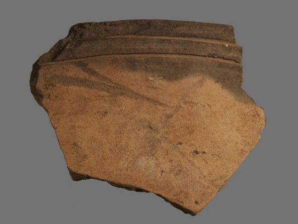 pottery fragment