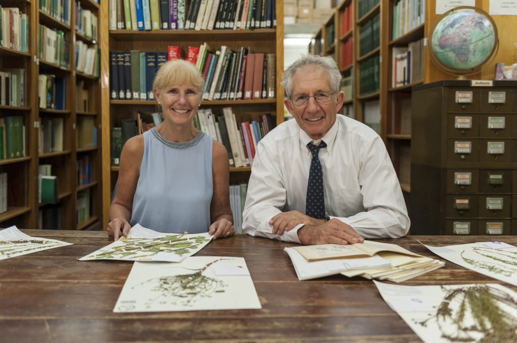Plant biologists Pam Soltis and Doug Soltis joined an international team of researchers to map China's floral diversity using 1.4 million specimen records. Florida Museum photo by Kristen Grace