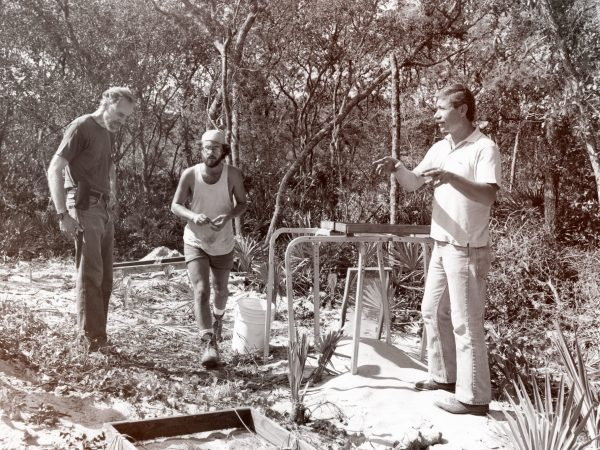 on dig site in '80s