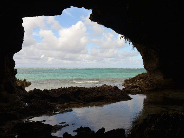 Flooded Caribbean cave