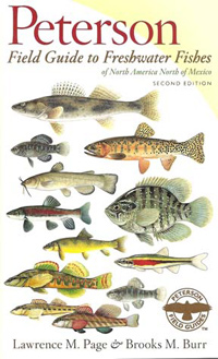 """Peterson Guide to Freshwater Fishes"" cover"