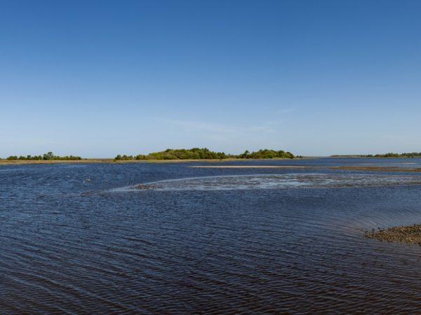 panoramic view of Cedar Keys