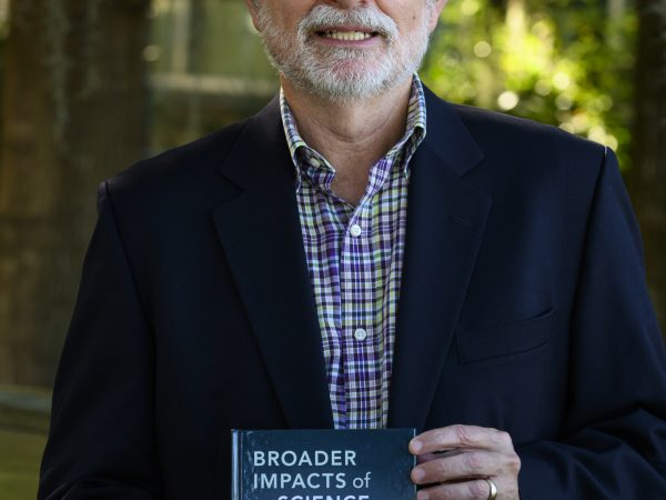 Bruce MacFadden with book