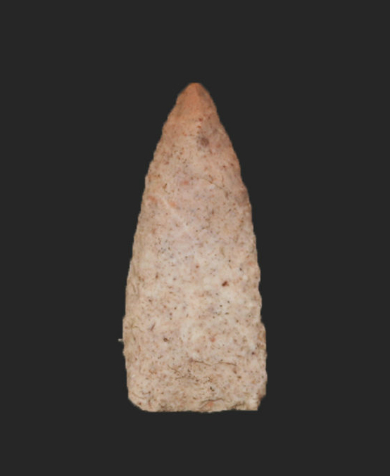 arrowhead-like point
