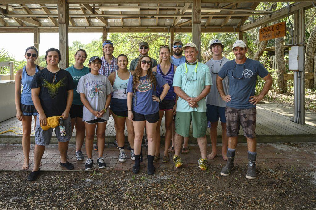 shark class group photo