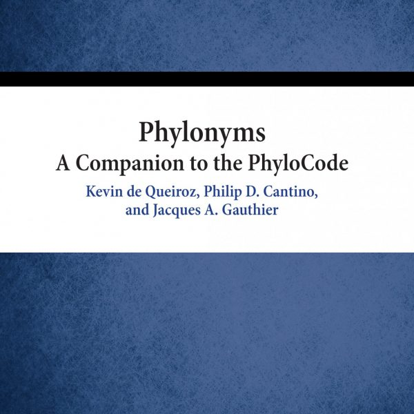 Phylonyms book cover
