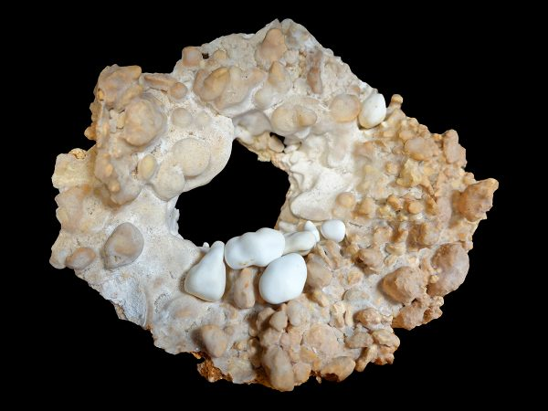 doughnut-shaped example of cave pearls