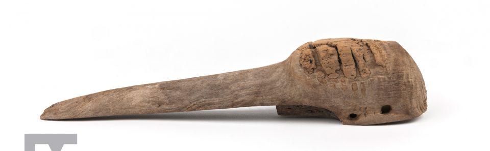 Carved Crane Head