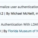 ldap plugin listing screenshot