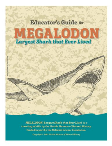Megalodon Educator Guide cover
