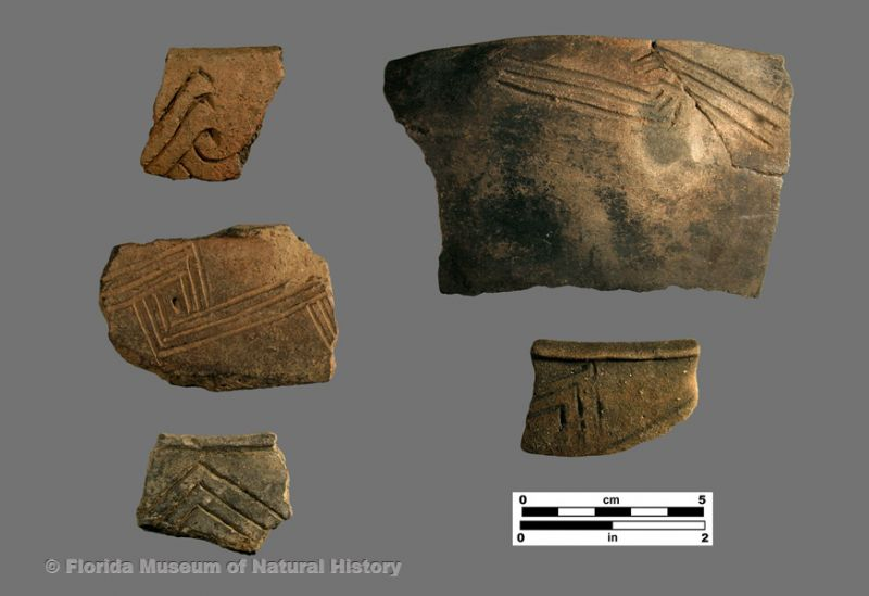 Aucilla Incised, AKA Ocmulgee Fields Incised, var. Aucilla