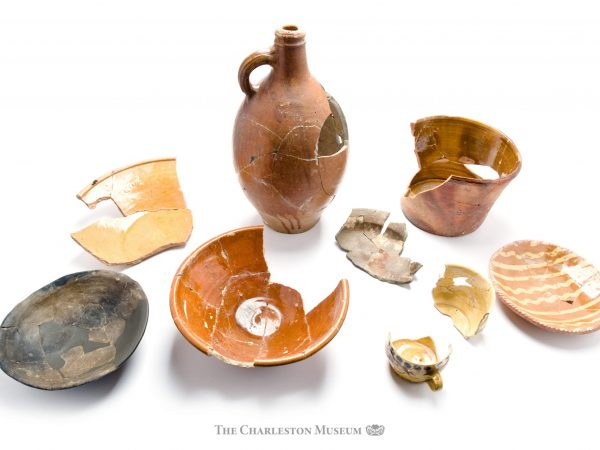 Historic coarse earthenwares from the Charleston Museum