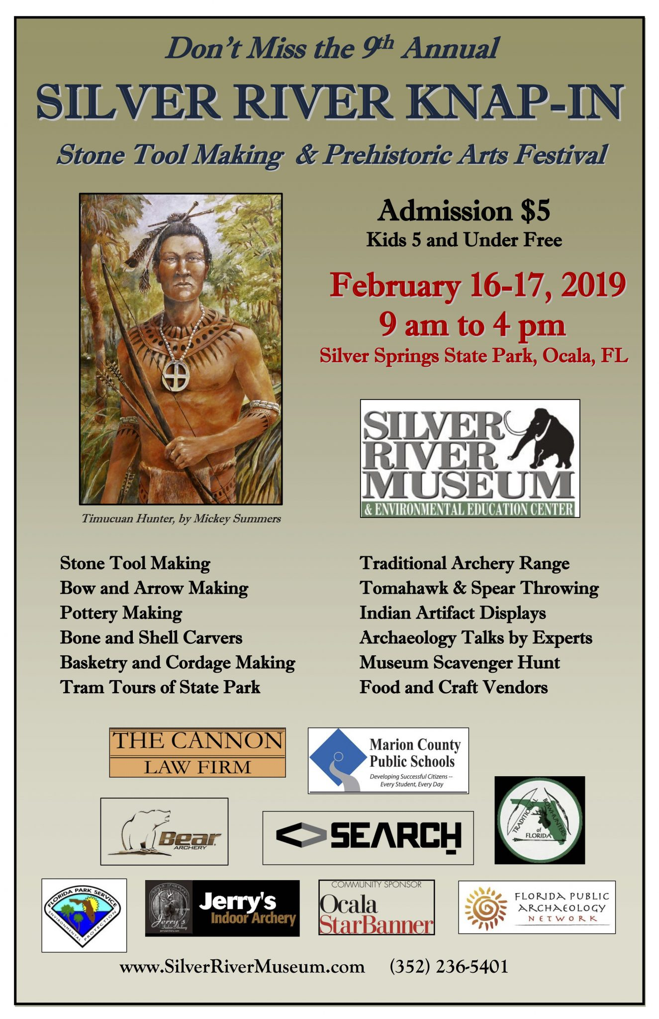 Poster for Silver River Knap-in