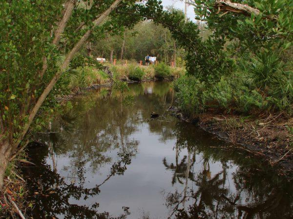 canal around the Smith Mound