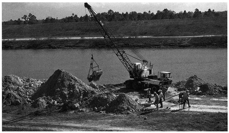 Inglis 1A excavation