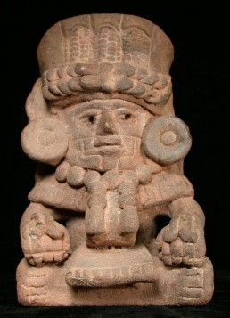 Maize God Funerary Urn
