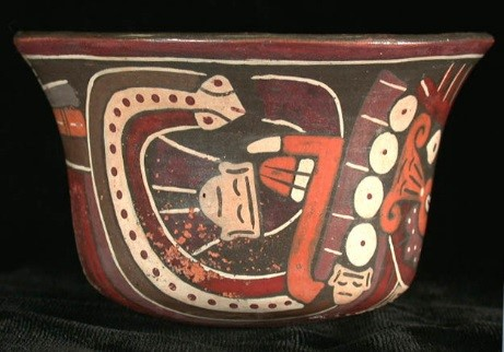 Anthropomorphic Mythical Being Bowl