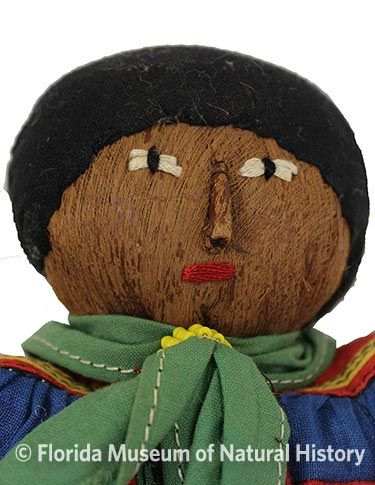 Figure 11: Male doll with cloth hair.