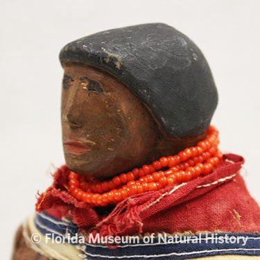 Figure 4: Early wood carved female doll.