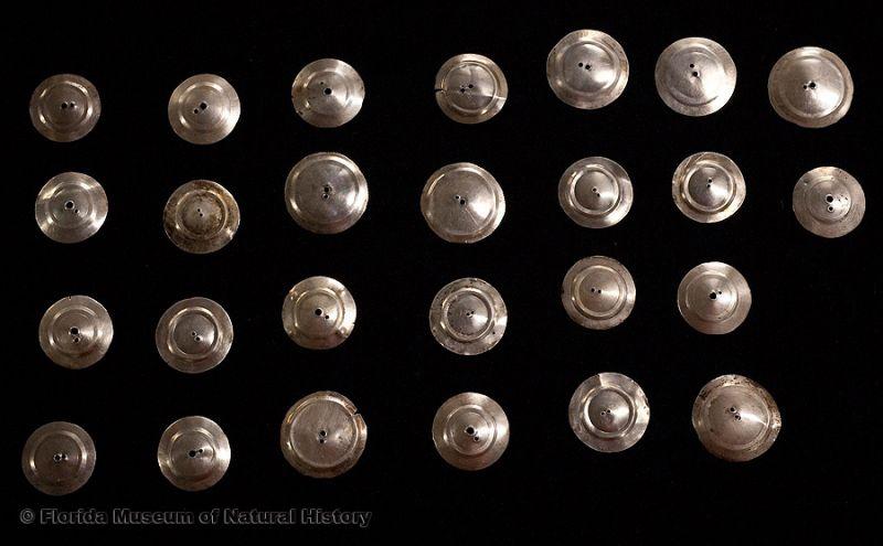 Silver bangles, Seminole, mid-20th century.
